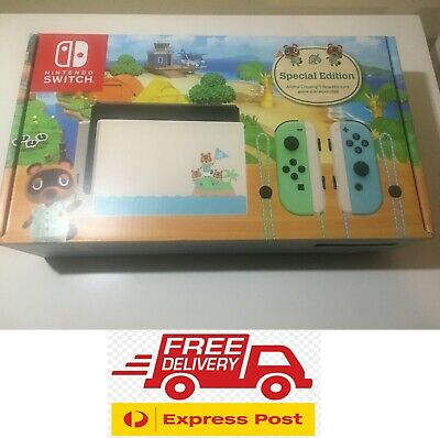 $ CDN648.34 • Buy Nintendo Switch Animal Crossing EXCLUSIVE Edition BRAND NEW!