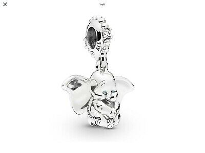 £9.99 • Buy Pandora Sterling Silver Disney Baby Dumbo Charm 797849CZ ALE S925 + Pouch.