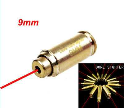 $ CDN13.69 • Buy CAL 9mm Red Dot Laser Bore Sighter Copper For Scope Hunting