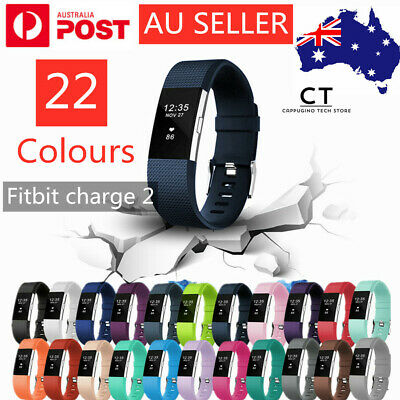 AU3.89 • Buy Fitbit Charge 2 Bands Sport Replacement Wristband Watch Strap Bracelet Silicone