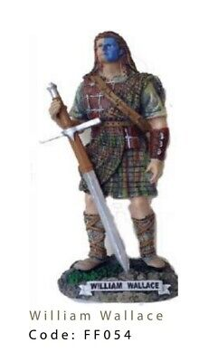 £12 • Buy Brave Heart William Wallace 7.5'' Resin Hand Painted Figurine