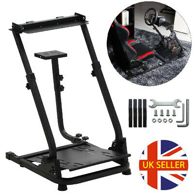 Racing Steering Simulator Wheel Stand For Logitech Racing Driving Gaming Shifter • 43.79£