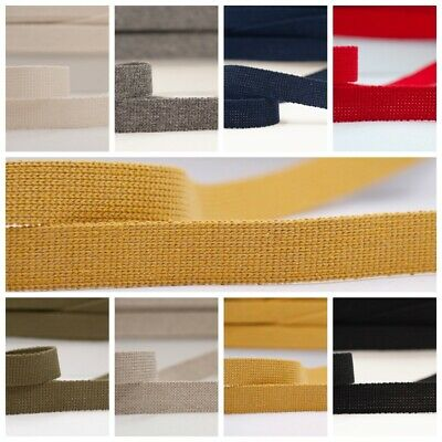 Webbing 25mm, Bag Straps, Belts, Cotton/acrylic Mix, Sold By The Metre • 1.59£