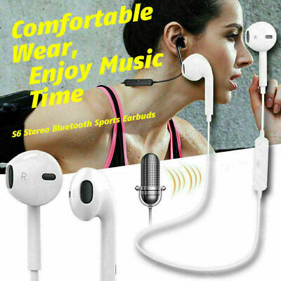 Wireless Bluetooth Headphones Sports PREMIUM Earphones For Samsung IPhone UK • 3.99£