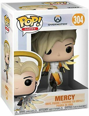 AU26.09 • Buy Mercy Pop Vinyl 304 - OVERWATCH COLLECTION - BRAND NEW