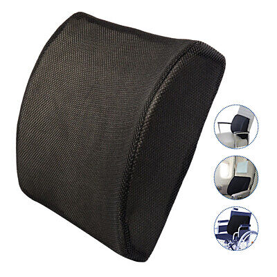 AU22.99 • Buy Memory Foam Lumbar Back Pillow Support Back Cushion Home Office Car Seat Chair