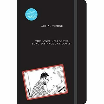 The Loneliness Of The Long-Distance Cartoonist - Hardback NEW Tomine, Adrian • 21.73£