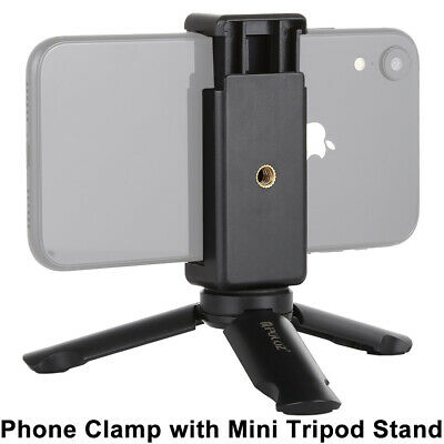 Universal Mini Mobile Phone Tripod Stand Grip Holder Mount For IPhone Samsung • 3.99£