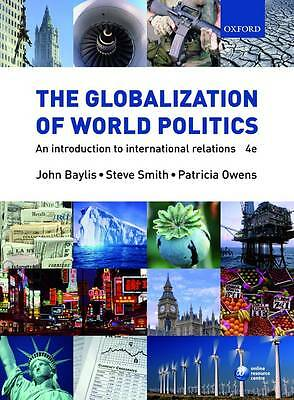 £4 • Buy The Globalization Of World Politics: An Introduction To International Relations
