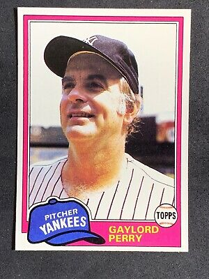 $ CDN0.33 • Buy 1981 Topps  #582 Gaylord Perry NM-MT OR BETTER NY Yankees