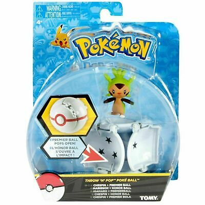Pokemon Tomy Throw 'N' Pop Poke Ball Pokeball   Great Super Ball • 6.99£