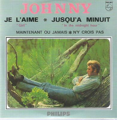 AU13.12 • Buy CD   Johnny Hallyday   - Je L'Aime (Numbered 03075) Blister Pack New