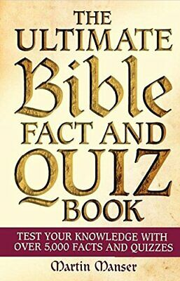 £7.49 • Buy The Ultimate Bible Fact And Quiz Book By Manser, Martin Book The Cheap Fast Free