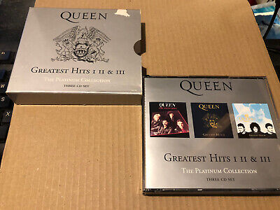 Queen The Platinum Collection Greatest Hits 1,2,3 3cd  • 6.75£