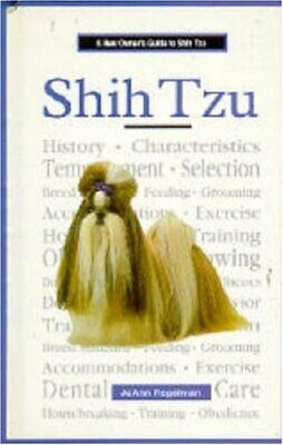 £2.29 • Buy A New Owners Guide To Shih Tzu By Regelman, JoAnn Hardback Book The Cheap Fast
