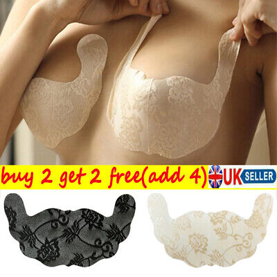 Push Up Invisible Breast Lift Tape Silicone Bra Nipple Cover Sticker Pasties • 2.37£