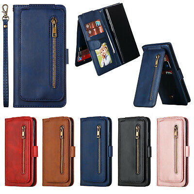 $ CDN10.65 • Buy For Samsung Galaxy Note20 Note10 Note9 Magnetic Leather Wallet Case 9 Card Cover
