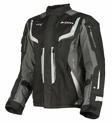 $ CDN1376 • Buy KLIM Badlands Pro Gray Motorcycle Touring Adventure Jacket - Free Shipping