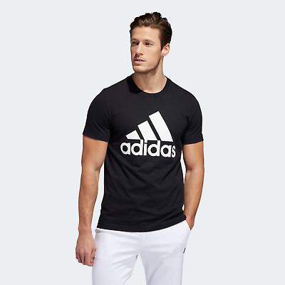 $18.79 • Buy New With Tags Adidas Men's Logo Tee Top Athletic Muscle Gym Shirt