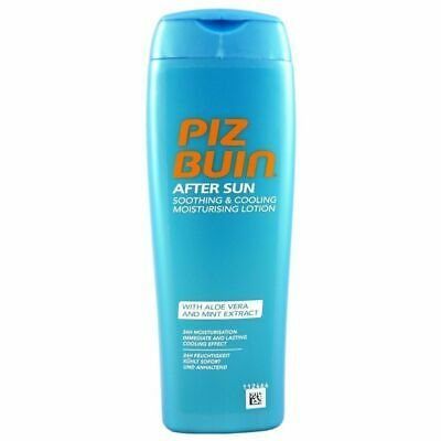 £4.30 • Buy Piz Buin After Sun Soothing & Cooling Moisturising Lotion 200ml Aloe Vera Mint