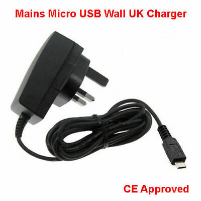 Charger For Amazon Kindle Fire Hdx Tablet - Micro Usb Compatible Mains Wall Plug • 3.99£
