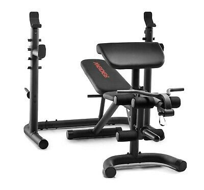 $ CDN507.42 • Buy NEW Weider Golds Gym XRS 20 Olympic Workout Bench  W/ Independent Squat Rack