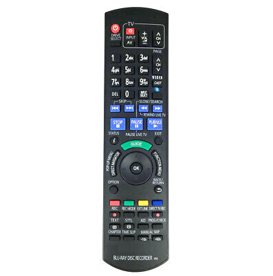 AU18.04 • Buy IR6 Remote Control For Panasonic N2QAYB000475 N2QAYB000479 Blu-ray Disc Recorder