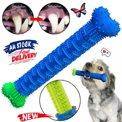 AU11.97 • Buy Pet Molar Dog Toothbrush Tooth Cleaning Brushing Dog Chew Toys EA