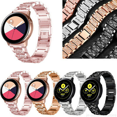 AU15.99 • Buy Women Metal Watch Band Strap For Samsung Galaxy Watch 42 46mm Active 2 40mm 44mm