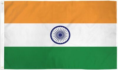 $7.58 • Buy 3x5 India Flag Indian Banner Country Pennant
