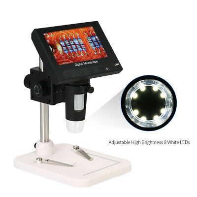 4.3  1000X HD LCD Monitor Electronic Digital Video Microscope LED Magnifier A0T4 • 30.95£