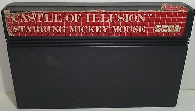 AU19 • Buy 'castle Of Illusion Starring Mickey Mouse' Game For Sega Master System