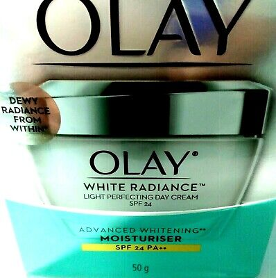 AU33.95 • Buy Olay White Radiance Light PerfectingDAY Cream Whitening Moisturizer SPF 24 PA+++
