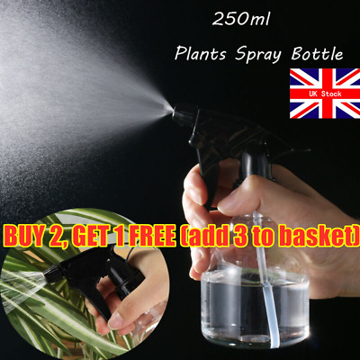 250ml Plants Spray Bottle Water Sprayer Fine Mist Garden Hairdressing Tools  • 2.99£