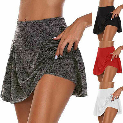 AU16.64 • Buy Women Athletic Pleated Tennis Golf Skirt With Shorts Workout Running Summer AU