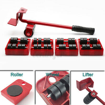AU16.44 • Buy Heavy Furniture Moves Shifter Lifter Wheels Moving Kit Slider Mover Table Tool