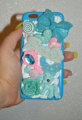 IPhone 6 6s Whipped Cream Decoden My Little Pony Kawaii Bling Phone Cover Case • 11.95£