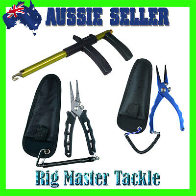 AU24.95 • Buy Stainless Steel Fishing Pliers Alloy Hook Remover Quality Tools Aussie Stock