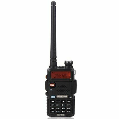 Baofeng UV-5R VHF/UHF Dual Band USB Two Way Ham Radio Walkie Talkie Earphone • 21.99£