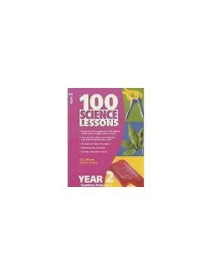 100 Science Lessons For Year 2 (100 Science Lessons ... By Wilson, Gay Paperback • 9.87£