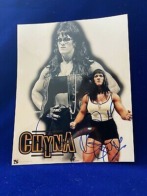 $ CDN34.25 • Buy Chyna Joanie Laurer Wwf Wwe Wrestler Dx Diva Signed 8x10 Color Photo