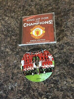 Manchester United 4 Track Picture Cd 1997 • 1.95£