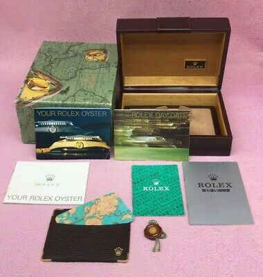 $ CDN349.32 • Buy ROLEX GENUINE DAY-DATE VINTAGE Watch Box Case 71.00.03 Booklet Calendar B4352