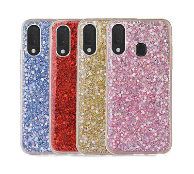 For Huawei P40 Lite P Smart Y6 Y7 2019 Glitter Crystal Case Soft Silicone Cover • 2.49£