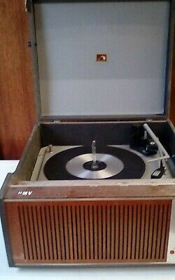 Vintage HMV Suitcase Record Player • 29.95£