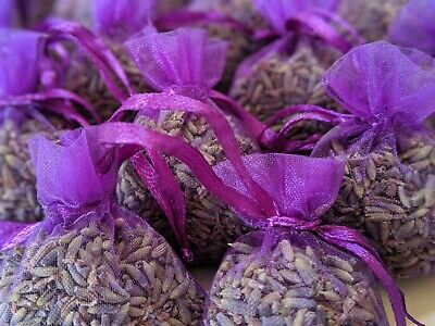 £5.88 • Buy Dried Lavender Bags Natural Handmade Fresh Buds Scent Aroma Moth Repellent