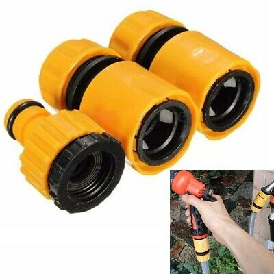 Garden Hose Connectors Set Watering Pipe Tap Plastic Connector Adaptor Fitting_r • 4.82£