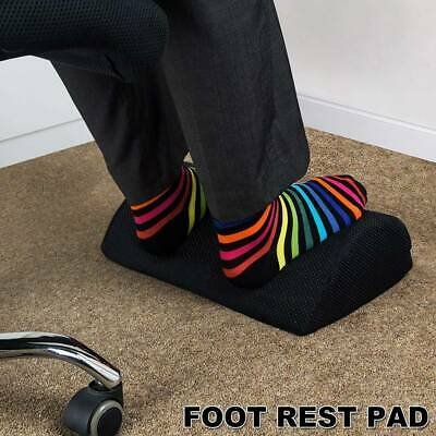 AU24.19 • Buy Ergonomic Sponge Footrest Pad Pillow Cushion Office Home Foot Rest Relax Travel