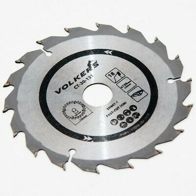 18T Genuine Volkers 130x20mm / 130x16mm Circular Saw Blade CT-20-131 Fast-Cut HM • 7.38£