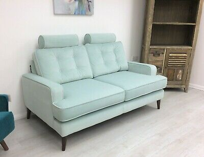 Isla Sofa Spearmint Green Velvet By Terence Conran - Arigh Bianchi £1745 • 799£
